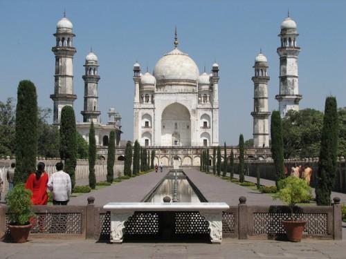 Mausoleo Bibi Ka Maqbara, en Aurangabad