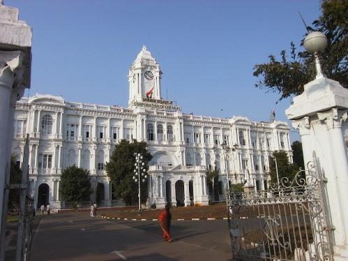 El fuerte San Jorge, en Chennai