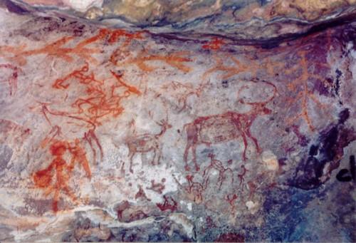 Pinturas rupestres de Bhimbetka