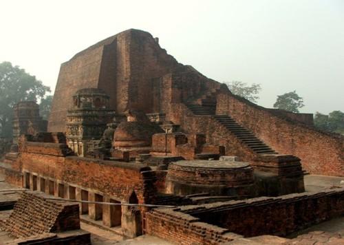 La antigua universidad de Nalanda