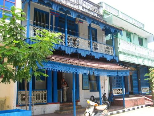 De caminata por Pondicherry