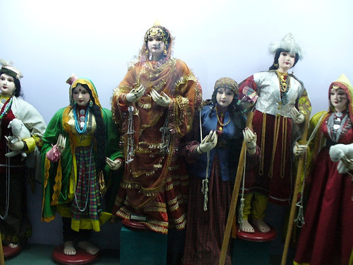 El Museo Internacional de Muñecas de Nueva Delhi