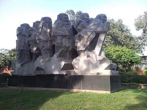 Monumento a Ghandi en Gujarat