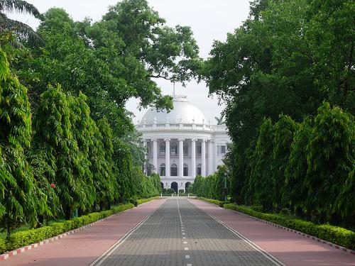 El Palacio de Gobierno Raj Bhavan