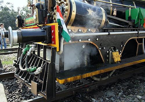 El Museo del Transporte Ferroviario de Delhi