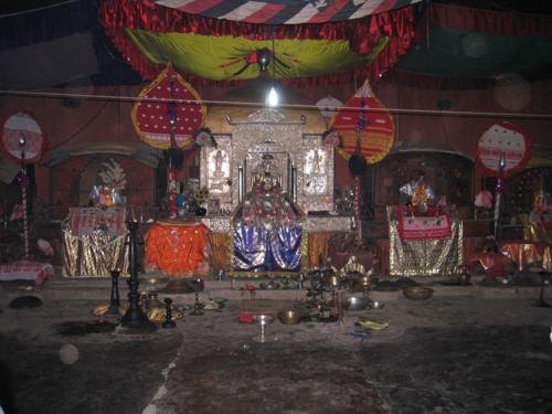 Templo en Majuli