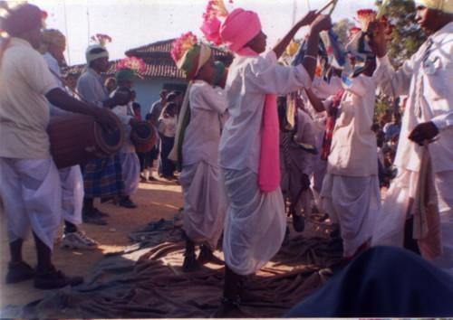 Las danzas folclóricas del Centro y Este de la India