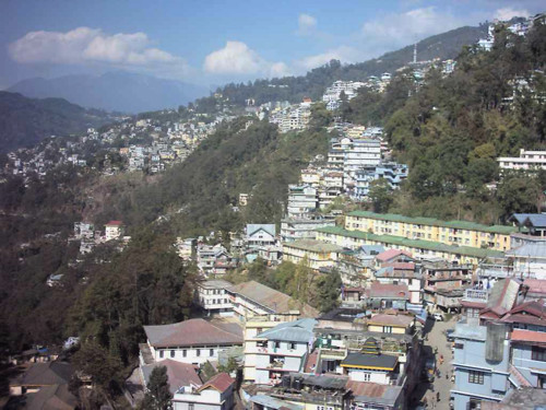 Gangtok, moderna capital de Sikkim