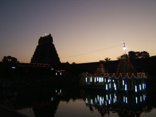 El Festival de luces flotantes de Madurai