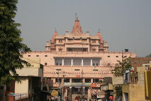 Templo en Mathura