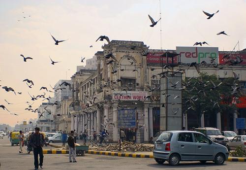 El parque Millennium Indraprastha, en Delhi