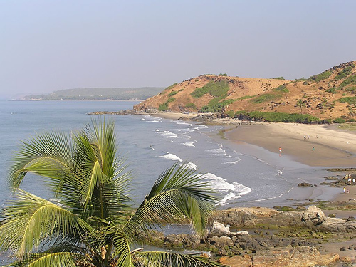 Playas en Goa