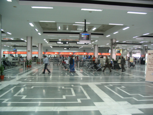 En avión de Madrid a Delhi