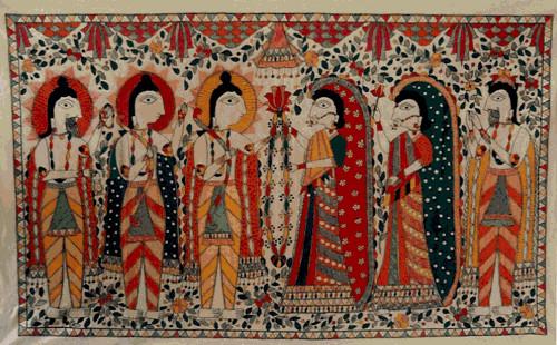 Paisaje y cultura popular de Darbhanga