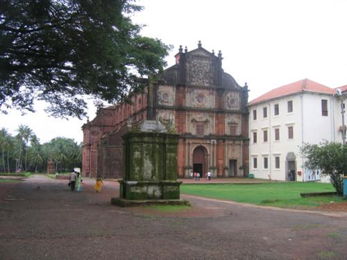 Reliquias de Goencho Saib, en Goa