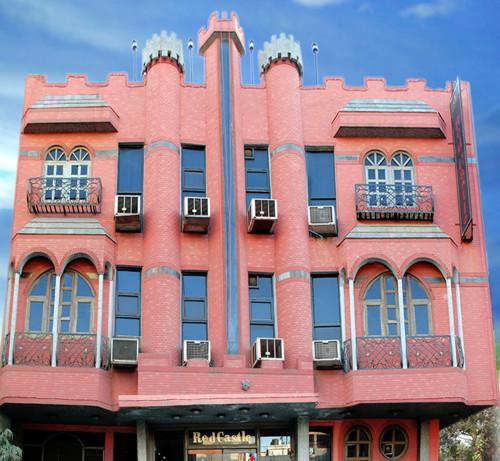 Red Castle, hotel de negocios en el centro de Delhi