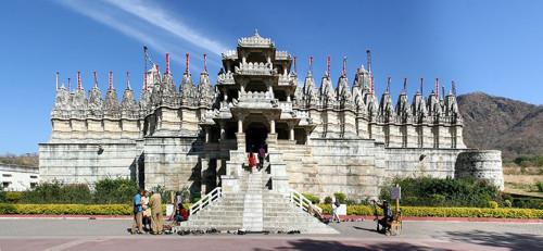 El Templo de Adinatha, en Rajasthan