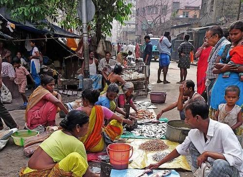 Conocer las calles comerciales más típicas de Calcuta