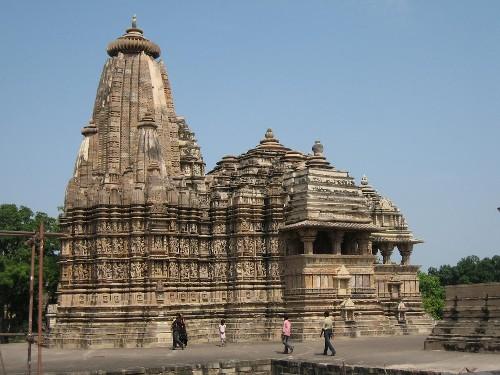 El templo de Lakshmana: el edificio más antiguo de Khajuraho