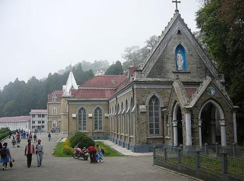 Una visita al convento de Loreto, en Darjeeling