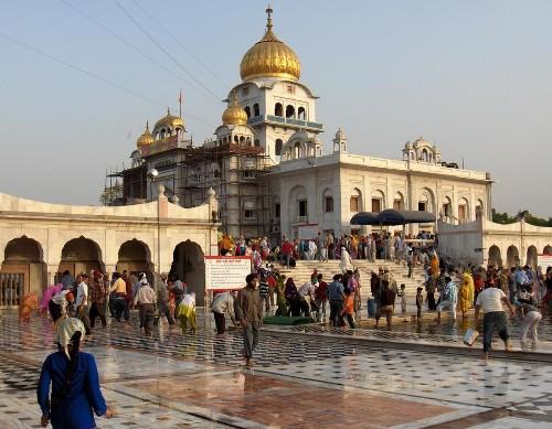 Bangla Sahib, en Nueva Delhi