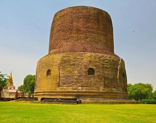 Descubrir las estupas de Sarnath, en Uttar Pradesh
