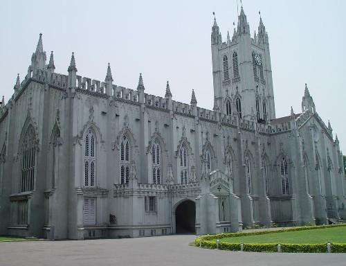 La catedral de San Pablo, en Calcuta