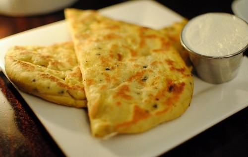 Tortillas hindúes, un delicioso aperitivo