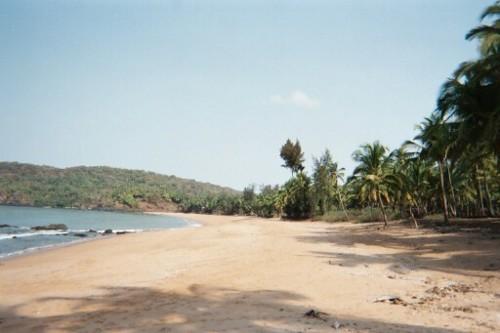 Polem, una sugerente playa en Goa