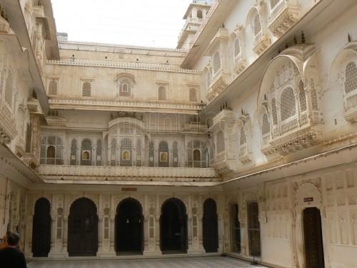Visitando el fuerte de Junagarh