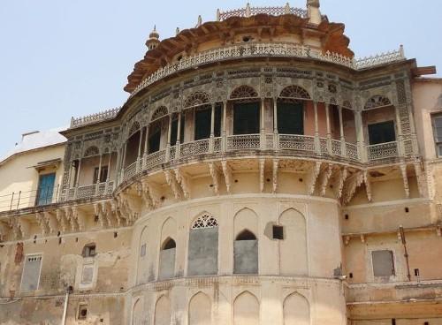 El palacio de Ramnagar, cerca de Benarés
