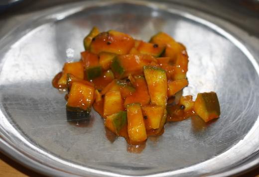 Mangai achar: un rico plato a base de fruta